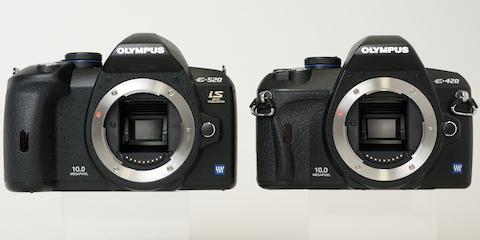 写真で見るオリンパス「E-520」