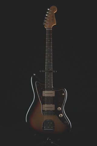 Hikon Fender Stratocaster T-Shirt Guitars S03