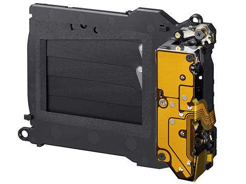 미러리스 카메라의 셔터