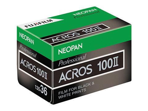 富士フイルム、黒白フィルム「ネオパン 100 ACROS II」を今秋発売 - デジカメ Watch
