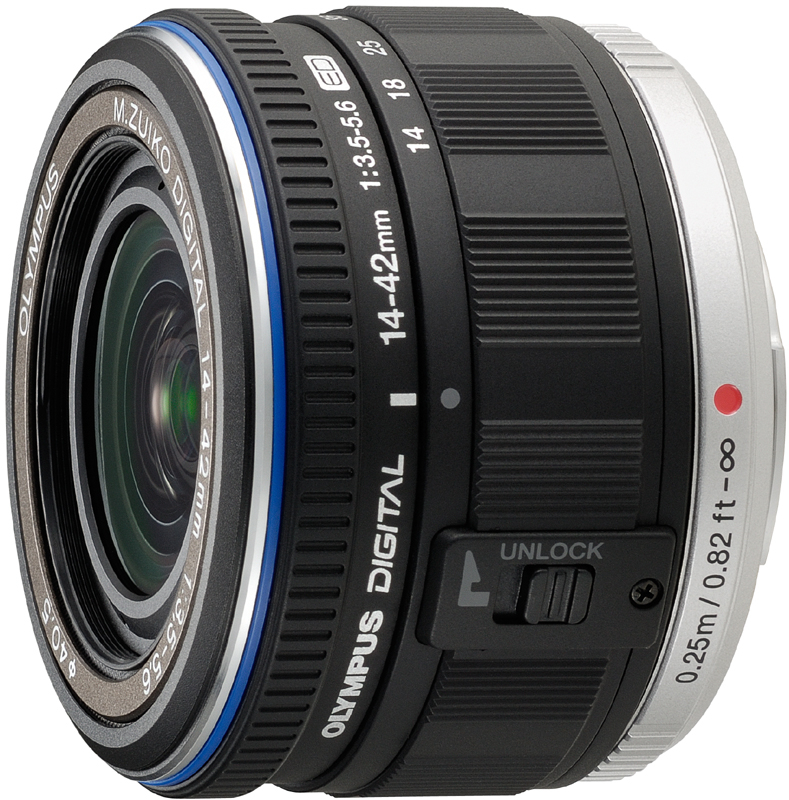<b>M.ZUIKO DIGITAL ED 14-42mm F3.5-5.6(ブラック)</b>