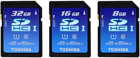 [分享] 史上最速SDHC- TOSHIBA UHS-I SDHC