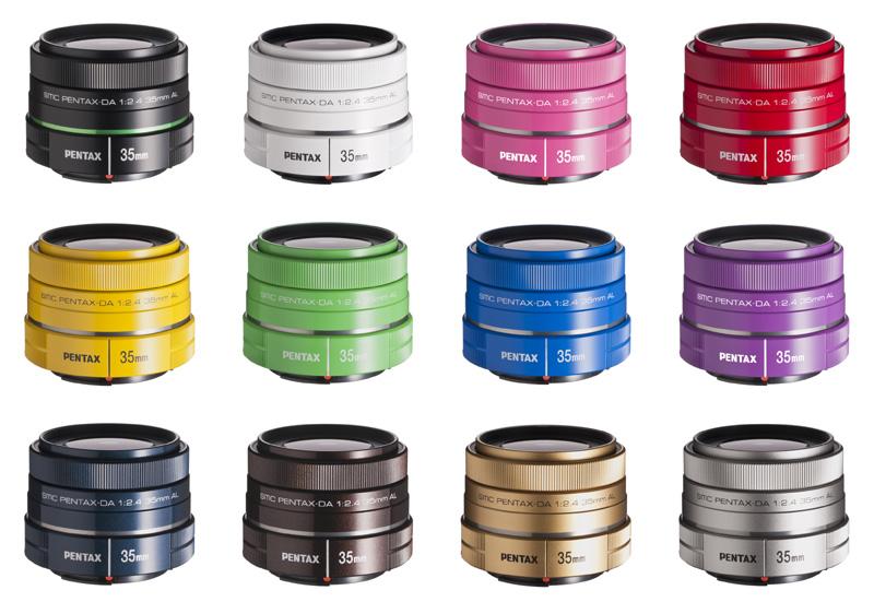 你喜歡哪個顏色的鏡頭?