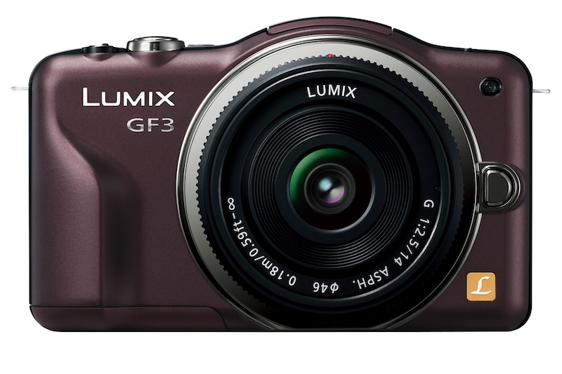<b>LUMIX DMC-GF3(センシュアルブラウン)+LUMIX G 14mm F2.5 ASPH.</b>