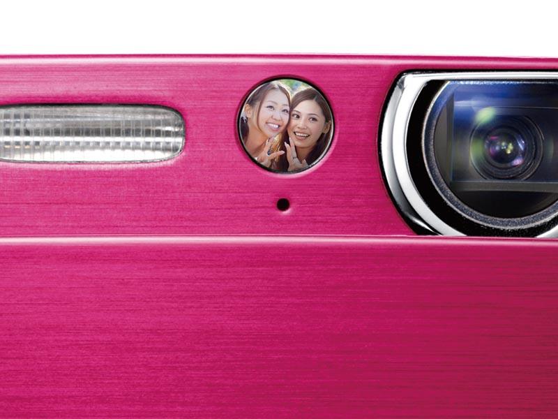 自分撮りミラー 自分撮りミラー  富士フイルム、自分撮り機能ミラー搭載の「FinePix Z11