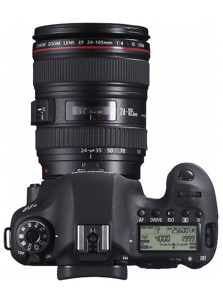<b>EF 24-105mm F4 L IS USMの装着例</b>