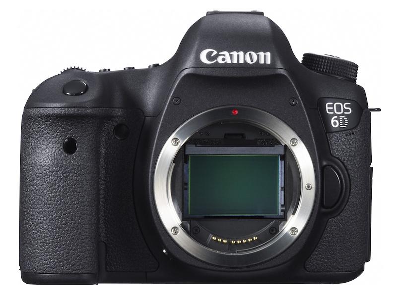 11月30日 Canon EOS 6D 日本上市