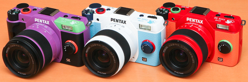 PENTAX Q10 福音戰士限量版 正式發表
