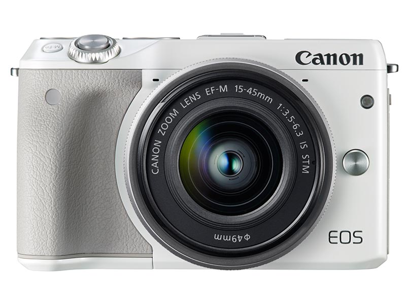 EOS M3・EF-M15-45 IS STMレンズキット(ホワイト)
