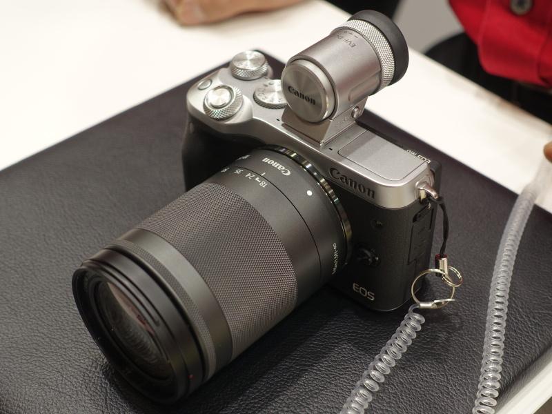canon m6 ファームウェア
