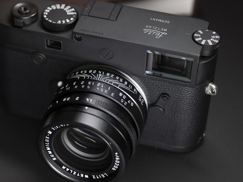 """「ライカM10モノクローム」と「ズミルックスM 35mm」に""""Leitz Wetzlar""""刻印の限定モデル エルンスト・ライツ社の創業150年を記念"""