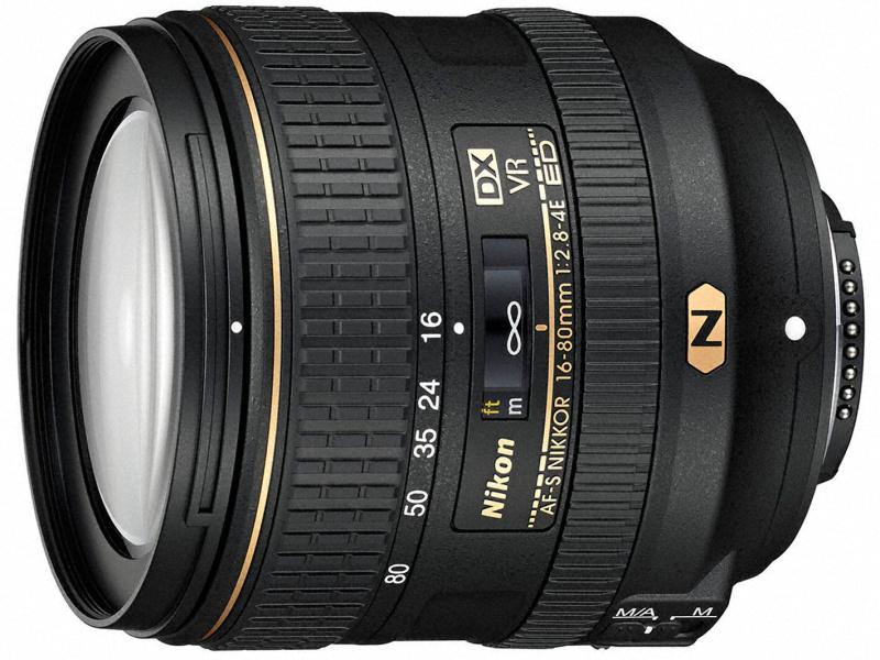 ニコン、標準ズームレンズ「AF-S DX NIKKOR 16-80mm f/2.8-4E ED VR」 DX初のナノクリスタルコート採用 フッ素コートや電磁絞りも